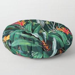 Midnight Garden V Floor Pillow