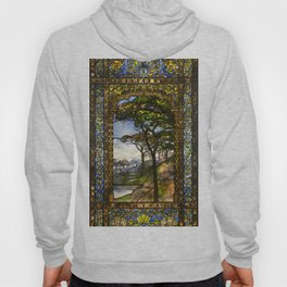 Louis Comfort Tiffany - Decorative stained glass 14. Hoody