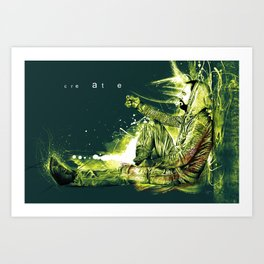 about creation Art Print