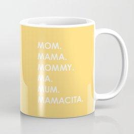MOM yellow Coffee Mug
