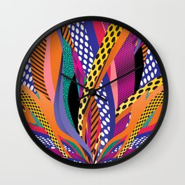 Leave a Trace Wall Clock
