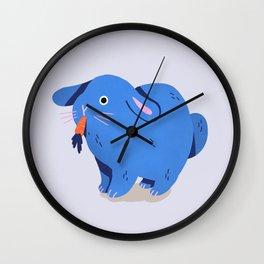 Disenchanted Bunny Wall Clock