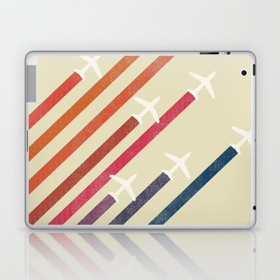 Aerial display (ver.2) Laptop & iPad Skin