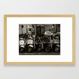 Scoot Scoot Framed Art Print
