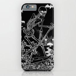 Death Card iPhone Case