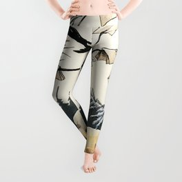 Magpie´s Toe by Rudolf Koivu  Leggings