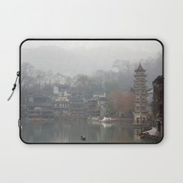 China's ancient town Laptop Sleeve