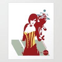 bioshock Art Prints featuring Bioshock - Liz. by The_Section