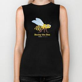 Becky the Bee Biker Tank