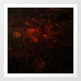Bloodflower Art Print