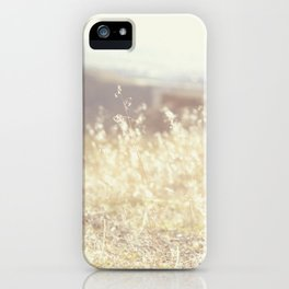 Vintage Wildflowers iPhone Case