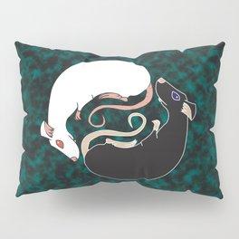 Yin Yang Rats Pillow Sham