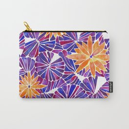 Water Lilies – Purple & Orange Palette Carry-All Pouch