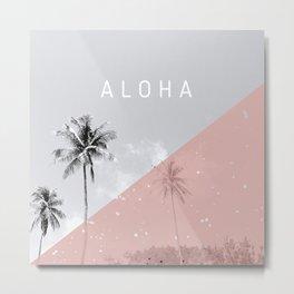 Island vibes - Aloha Metal Print