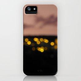 Ultimas luces iPhone Case