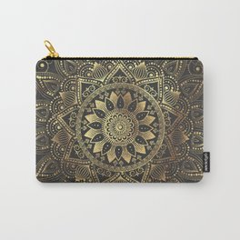 Elegant gold mandala artwork Carry-All Pouch