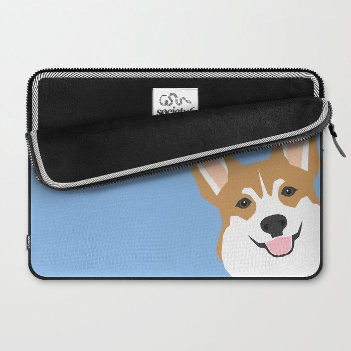 913a8d088356 Corgi Peek cute dog welsh corgi gift unique pet customizable gifts for dog  lovers Laptop Sleeve