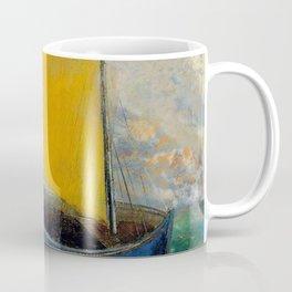 "Odilon Redon ""La Barque Mystique"" Coffee Mug"