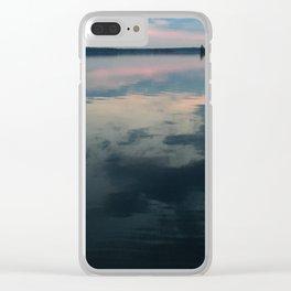 Sunrise Water Clear iPhone Case