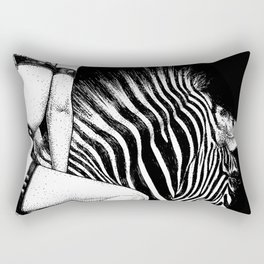asc 705 - La cavalière Mang (Do you see what I see?) Rectangular Pillow