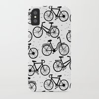 bikes iPhone & iPod Cases featuring Bikes by sarknoem