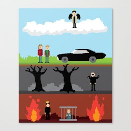 Supernatural - From Heaven and Hell Canvas Print
