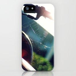 Spiderweb Bike iPhone Case