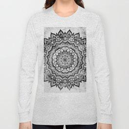 BLACK JEWEL MANDALA Long Sleeve T-shirt