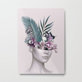Tropical Girl 3 Metal Print