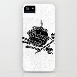 Be Not Afraid In This World iPhone Case