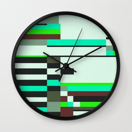 Geometric design - Bauhaus inspired Wall Clock