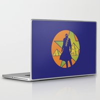 jojo Laptop & iPad Skins featuring EGYPT (CHAINS ARE ON) - DIO - JOJO by Mirco Greselin