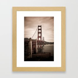 San Francisco, Golden Gate Bridge Framed Art Print