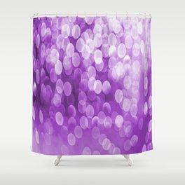 Bokeh Light Purple Tone #decor #society6 #buyart Shower Curtain
