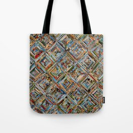 Texas Kaleidoscope Tote Bag