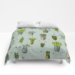 Potted Plants Comforters