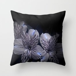Lily in the Dark Throw Pillow
