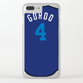 Alex Gordon Players' Weekend Jersey Clear iPhone Case