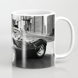Steve McQueen in Jaguar, Home Decor, wall print, gift for him, 60s style, Coffee Mug