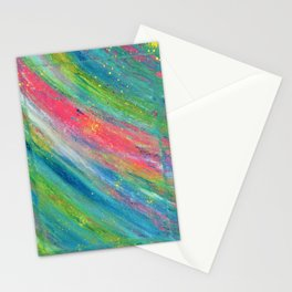 Rainbow Splat Stationery Cards