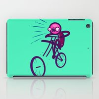 cycling iPad Cases featuring Cycling Disaster by Artistic Dyslexia