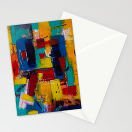 paint oil paints canvas abstraction art Stationery Cards