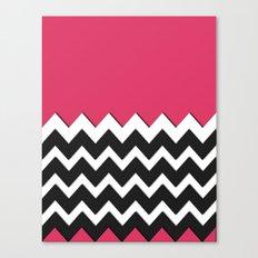 Zag Zig Canvas Print