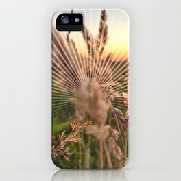Peel sunset lll - sunset graphic iPhone Case