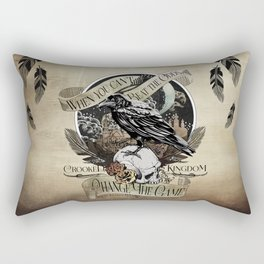 Crooked Kingdom - Change The Game Rectangular Pillow