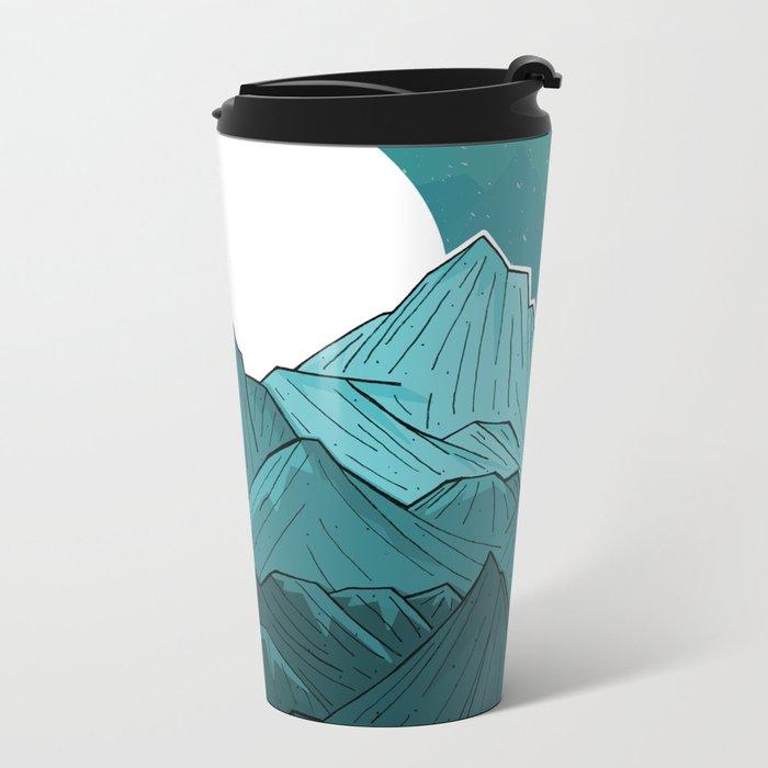 The Turquoise Mounts Metal Travel Mug