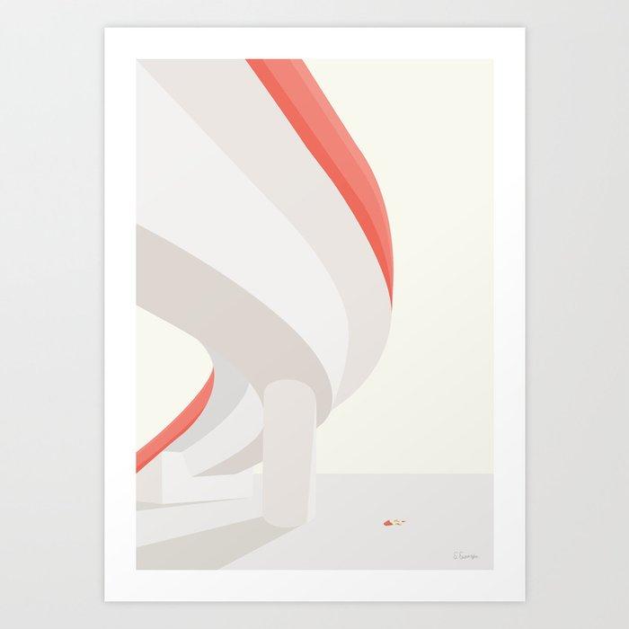 POMFRITTER Art Print