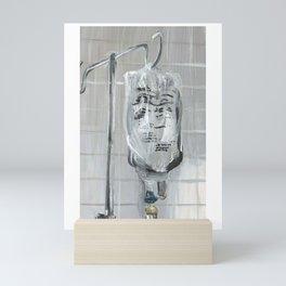 iv tubes 2 Mini Art Print