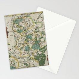 Vintage Map - Ortelius: Theatrum Orbis Terrarum (1606) - Duchy of Limburg Stationery Cards