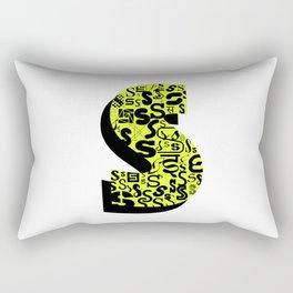 Letter S Rectangular Pillow